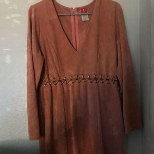 Dresses & Skirts - Suede dress
